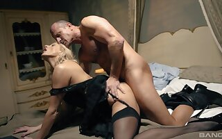 Sensual MILF gets intimate in hardcore, and she loves it