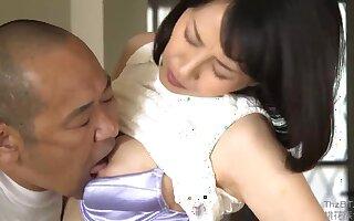 Asian mature slut lovable sex prop