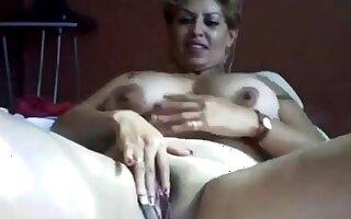 Mexican MILF Rubbing