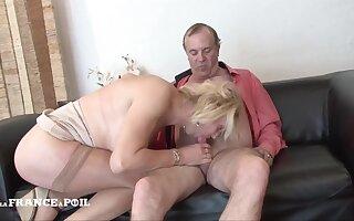 Amateur Senior Prepare oneself Prankish Porn Video
