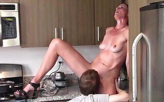 Oral sex mom and son (Sofie Marie)