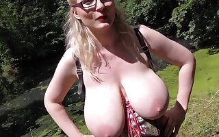 busty german pissing
