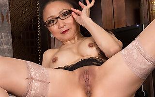 Kim in Sexy Old Lady Scene