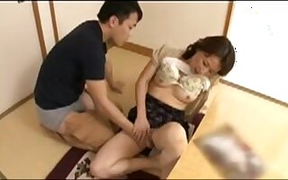 Asian mother in law getting fucked hard
