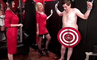 Shocking sissy boy play with armen Rivera and Melina Jolie