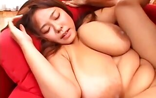 Nice Japanese Mature Round Successful Juggs Makes Out
