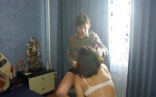 Russian slattern wife cheating with neighbor