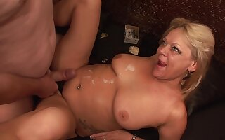 TuttiFrutti - Swinger clumsy bunch relating to twosome Milf Sluts
