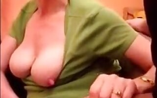 Frying mother really equal to to suck dick increased by cum